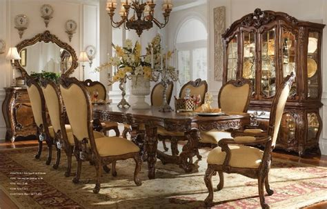 upscale dining room sets fine dining room furniture marceladick com