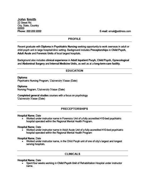 sle resume formats 2015 resume template recent graduate gallery certificate