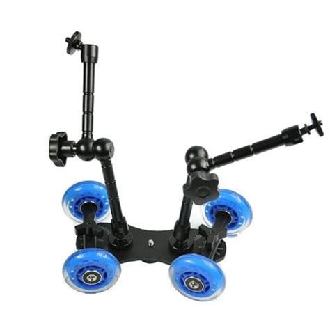 New Arrival Mgdolly Slider Kamera Dslr Magic Arm Monopod skate dolly 2x11in magic arm