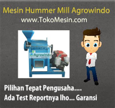 Tepung Gaplek Pakan Ternak mesin penepung serbaguna hammer mill toko mesin