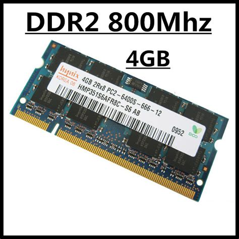 Memory Ram Pc Ddr2 4gb Laptop Memory Ddr2 Ram 4gb 800mhz Pc2 6400s Sodimm Notebook Memory Ddr2 Ram 4gb 800mhz So Jpg