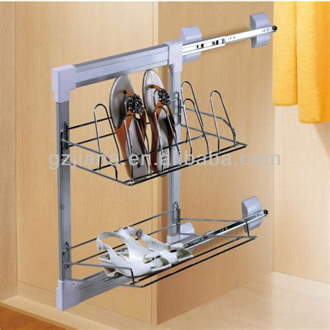 sliding shoe storage wardrobe side pull out shoes rack g303a buy shoes