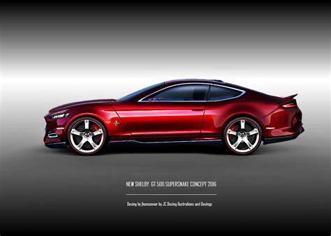 ford mustang 2016 concept 2016 mustang gt 500 supersnake concept by jhonconnor on