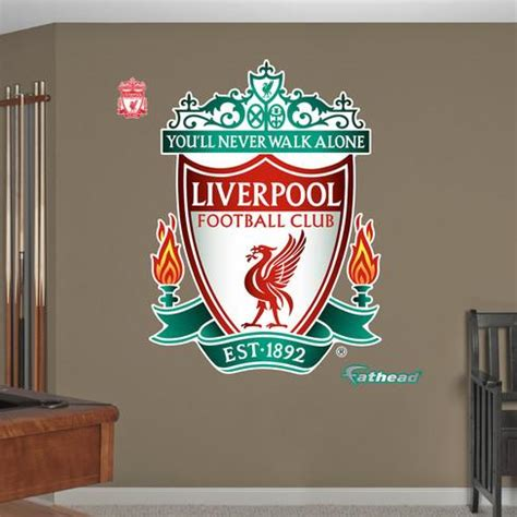 Wall Sticker Liverpool 3 liverpool lfc liverpool logo wall decal sticker wall decal allposters co uk