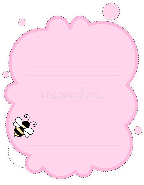 cute wallpaper note 2 cute note paper background stock vector illustration of