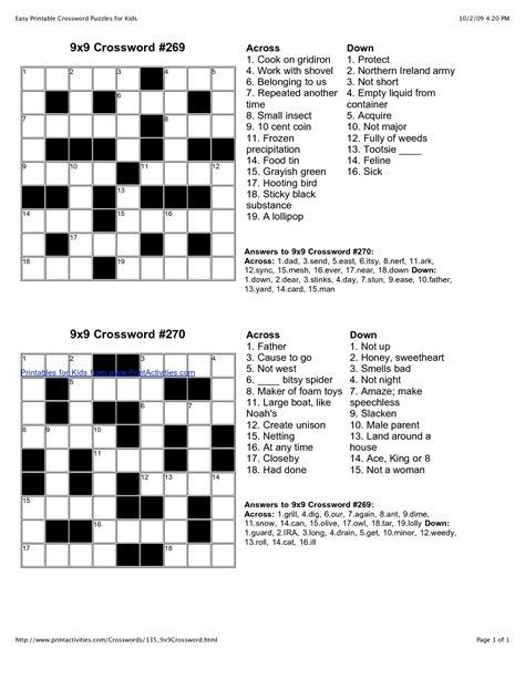 printable easy crossword puzzles uk easy printable crossword puzzles freepsychiclovereadings com