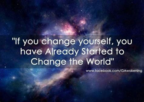 Change World manufacture your day by changing yourself karico