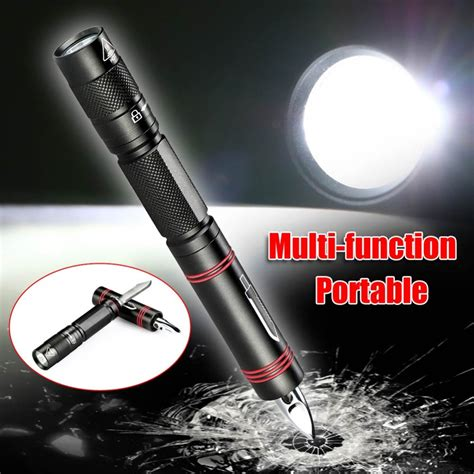 Senter Pena Led senter led tactical pen xpe q5 1000 lumens black jakartanotebook