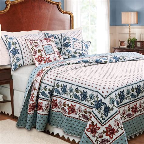 Greenland Quilts by Greenland Home Fashions Madeline Quilt Set