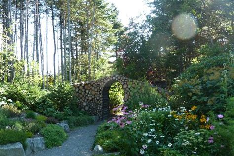 Mun Botanical Gardens Entry To Gardens Picture Of Memorial Of Newfoundland Botanical Garden St S
