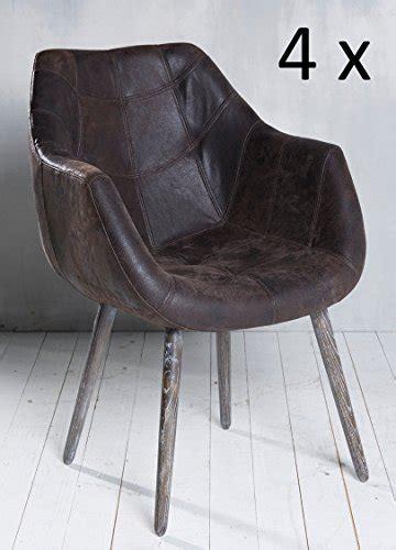 Küchenstuhl Leder by Design Esszimmer Retro