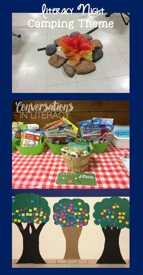 themes for reading night literacy cing theme and cing on pinterest
