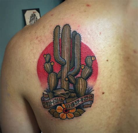 cactus tattoos the 36 coolest cactus tattoos to exist tattooblend