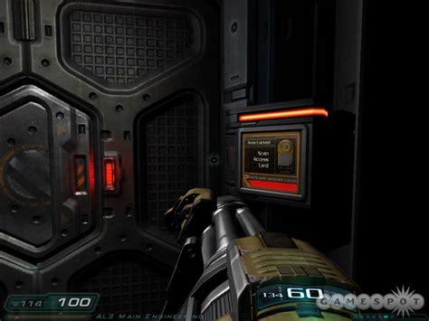 Doom 3 Door Codes by Doom 3 Walkthrough Gamespot