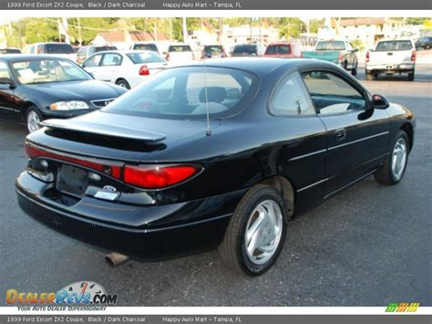 1999 ford zx2 coupe black charcoal photo 6
