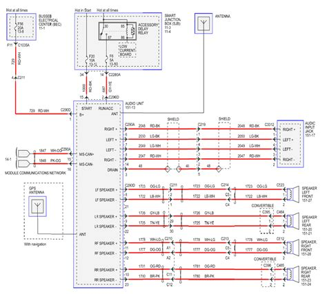 1996 ford stereo wiring diagram wiring diagram with