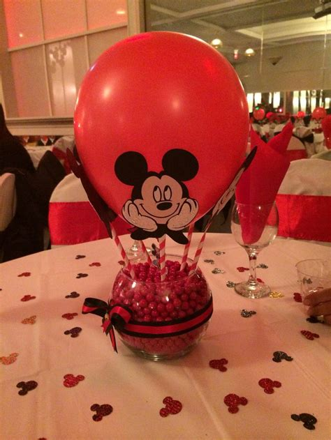 Pinterest The World S Catalog Of Ideas Centerpieces For Mickey Mouse Birthday