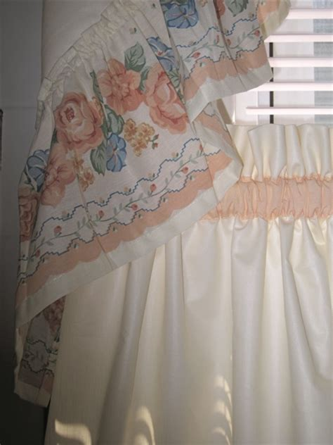 peach colored kitchen curtains decorate for less quality custom made home d 233 cor items
