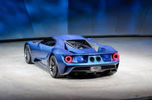Ford Gt 2015 Ford Gt At 2015 Detroit Auto Show Rear Three Quarter Photo 14