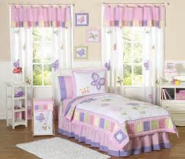 Kids butterfly bedding pink purple lavender twin full queen comforter