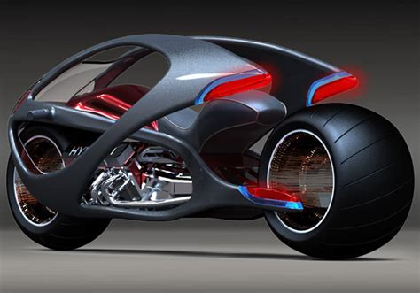 motor design concept hyundai motorcycle stretches la moto qui fait