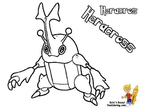 pokemon coloring pages heracross gusto coloring pages to print pokemon 08 misdreavus