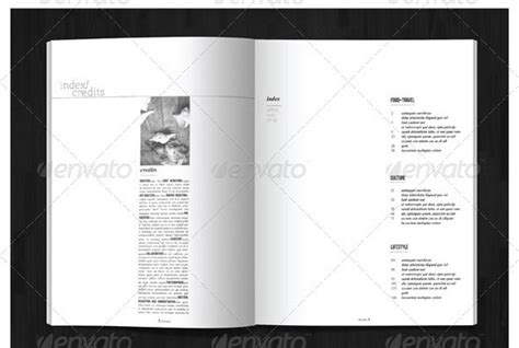 magazine layout event event program templates indesign magazine acquire