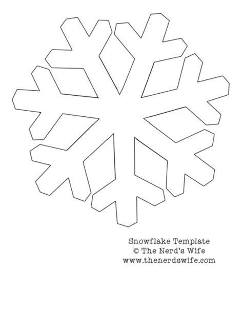 template of snowflakes cut outs best photos of santa snowflake template printable