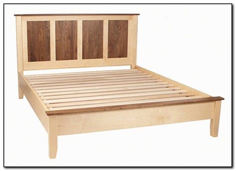 woodworking plans queen size bed frame plans