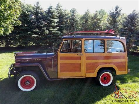 Woody Jeep 1961 Willys Real Woody Woodie Surf Jeep One Of