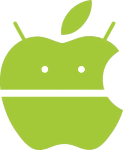 apple and android apple android logo by leonardomatheus on deviantart