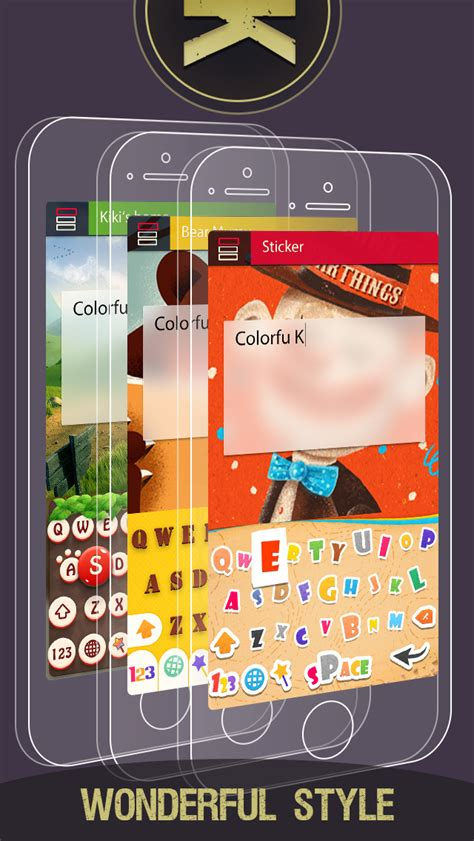 best keyboard themes for iphone 6 colorful keyboard themes stylish keyboards with custom