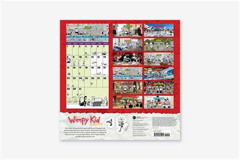 chef 2018 calendar books the wimpy kid 2018 calendar wall abrams
