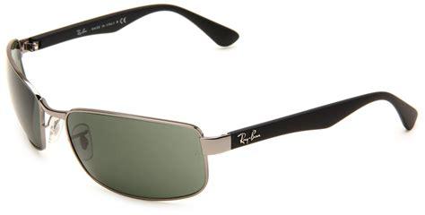Kacamata Quiksilver Sunglasses Lens Polarize ban rayban mens non polarized rectangle sunglasses in black for gunmetal frame green