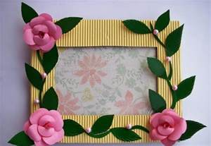 arts and crafts ideas for gifts photo frame craft ideas craft gift ideas