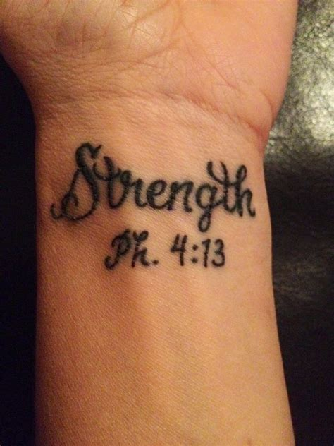 phil 4 13 tattoo bible verse tattoos scripture tattoos with meanings 2018