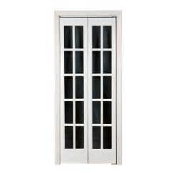 Interior French Doors Home Depot Pinecroft 24 In X 80 In Classic French Glass Wood