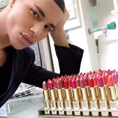 Loreal Balmain report balmain x l or 233 al lipstick collection