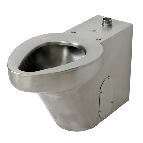 Stainless Steel Water Closet by R2141 3 On Floor Floor Waste Siphon Jet Commercial