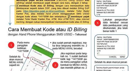 cara membuat id billing cara membuat kode atau id billing untuk setor pajak