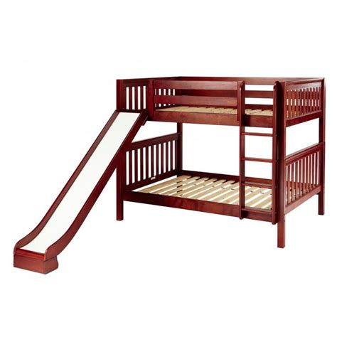 Lower Bunk Beds Pretty Maxtrix Size Low Bunk Bed Ladder And Slide Kid S Room Bunk