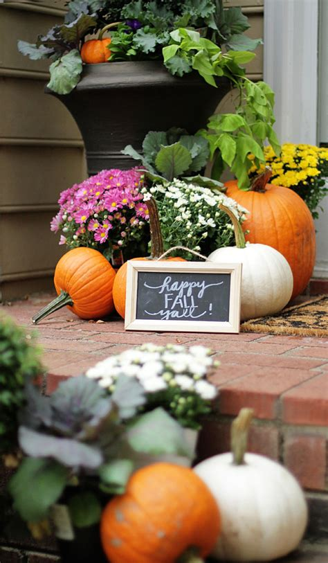 Herb Pots Outdoor by Fall Home Tour Part 2 Outdoor Spaces Style Your Senses