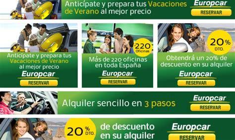 europcar si鑒e social dise 241 o produccion y desarrollo de emails email emailings