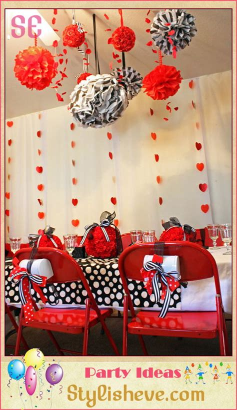 home decor house parties always plan a different type of decor for the private party