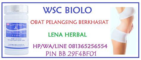 Pelangsing Biolo Wsc pelangsing wsc biolo bereaksi cepat