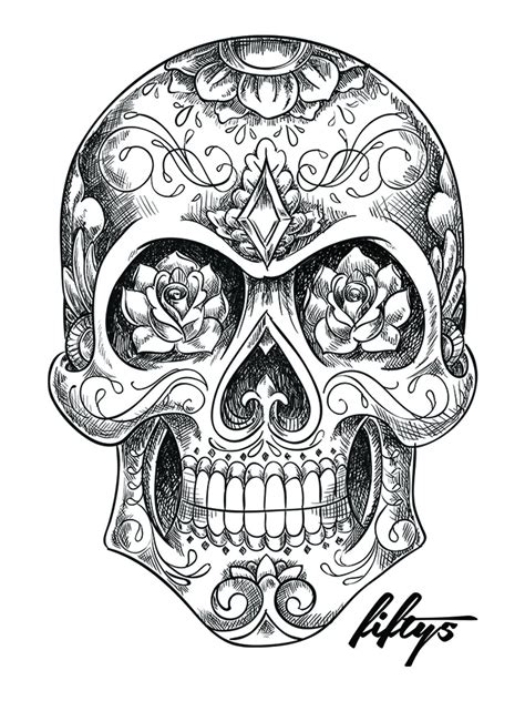 sugar skull tattoo designs tumblr sugar skull search tattoos sugar