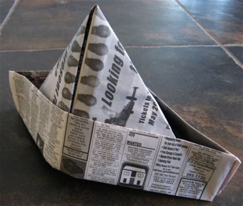 Make A Paper Hat Out Of Newspaper - how to make a paper hat for skip to my lou