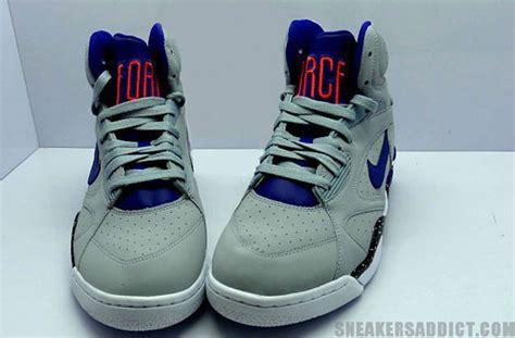 Nike Airforce Shoes Sepatu Addict10 nike air 180 high grey royal orange sneakernews