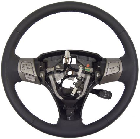 toyota solara steering wheel gray leather