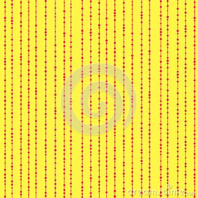 wallpaper edge beading beads on a string seamless vector pattern stock vector